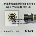 Portalampada freccia laterale Opel