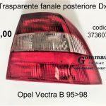 Trasparente fanale post. Dx Opel Vectra